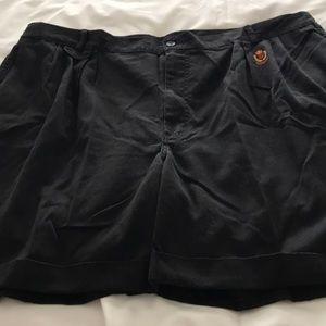 Men's shorts. Size 46. Black